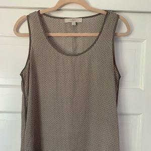 Grey speckled tank
